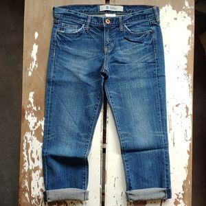GAP Original Cropped Jeans In Dark Wash